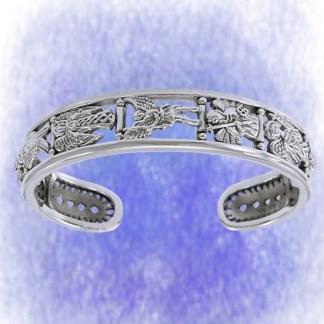 Armreif Erzengel aus 925-Silber