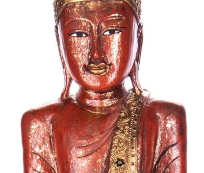 Buddha stehend aus Holz handgeschnitzt 120x40x20cm4 - Buddha stehend aus Holz handgeschnitzt 120x40x20cm
