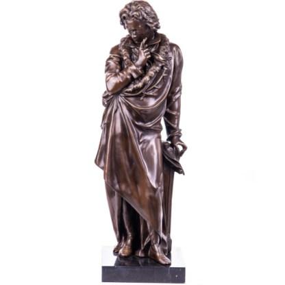 Bronze Figur Beethoven - stehend 71cm