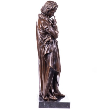 Bronze Figur Beethoven - stehend 71cm2