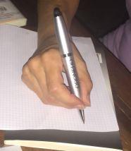 Scrivere da oggi sarà ancora più emozionante grazie a lei... Giorgia.
