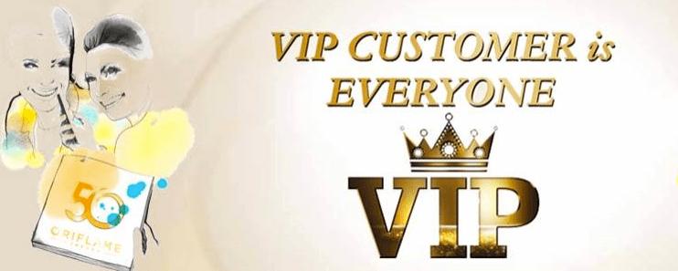 VIP Order Oriflame Details