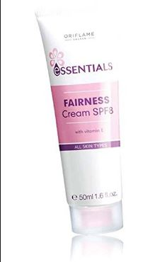 Oriflame Essentials Fairness Cream spf 8 Review