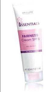 Oriflame Essentials Fairness Cream spf 8 Review