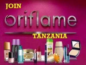 join oriflame in tanzania