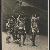 Navaho pleme, pred noćni ples, 1904.