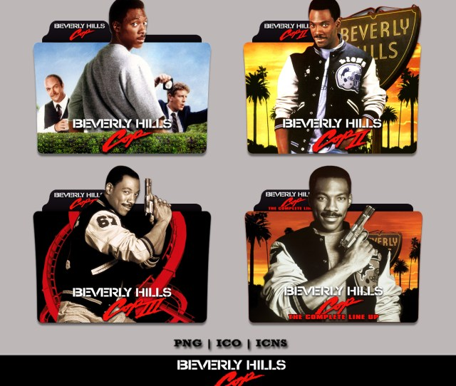 Beverly Hills Cop Collection Folder Icon Pack By