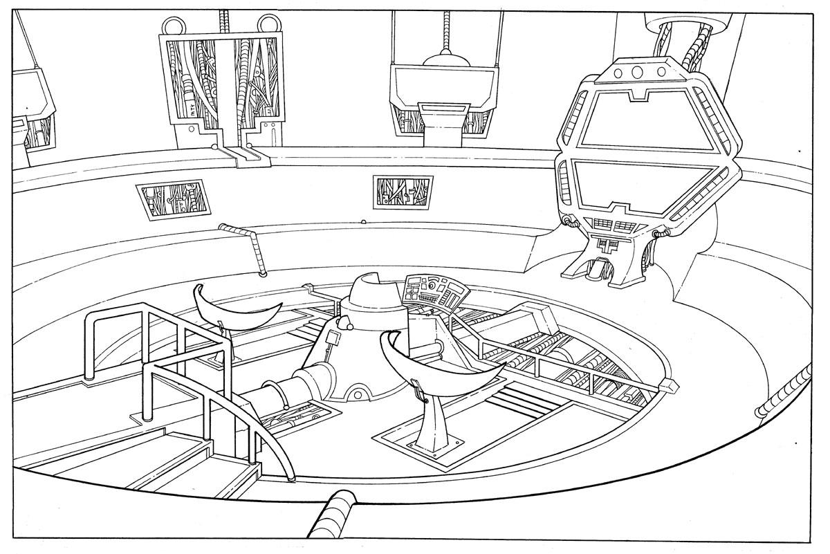 Spaceship Bridge By Bonvillain On Deviantart