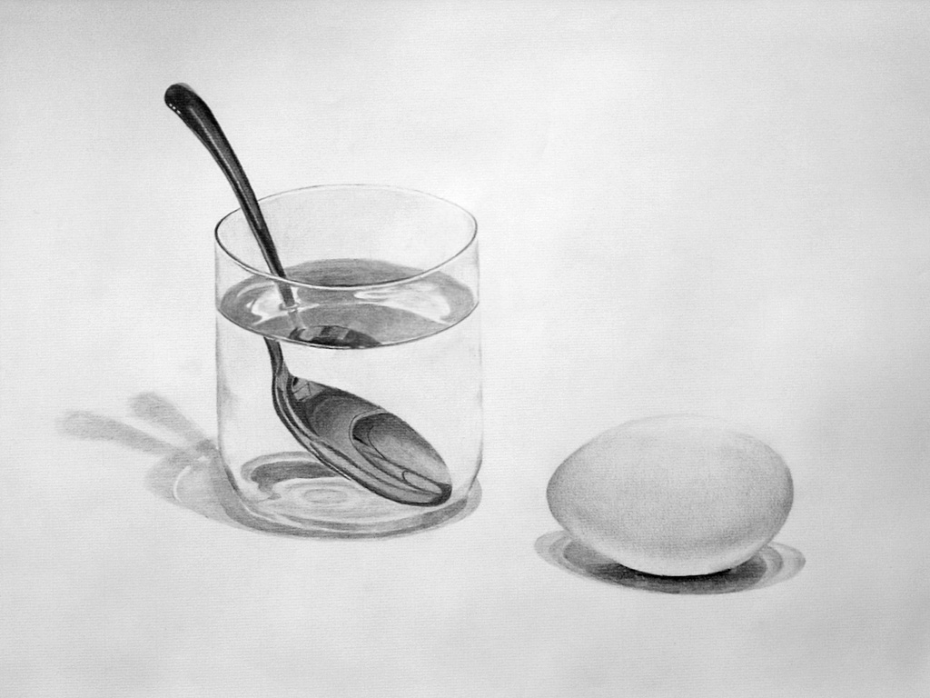 Egg Glass And Spoon By Einai On Deviantart