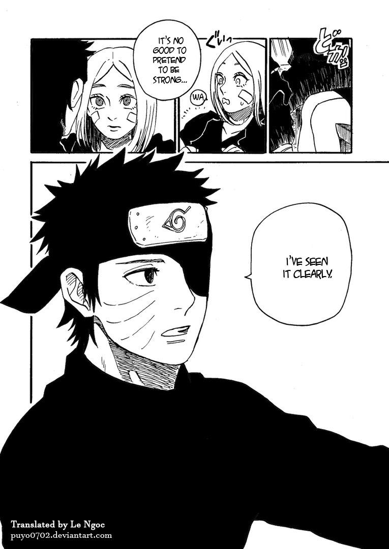 Naruto Doujinshi Obito And Rin By Minglee7294 On DeviantArt