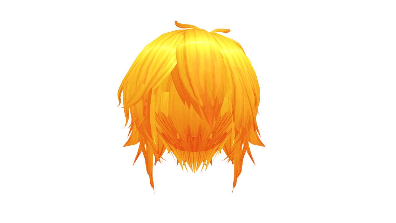 MMD Orange Short Hair Download By 9844 On DeviantArt