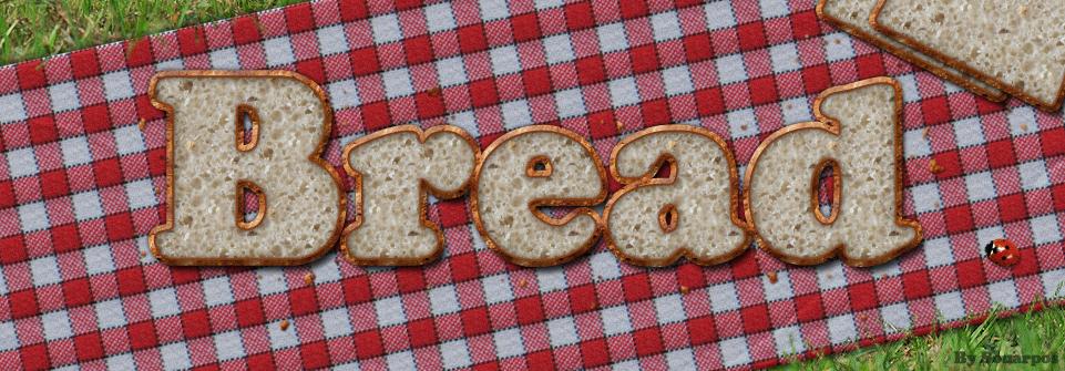 Bread Photoshop style