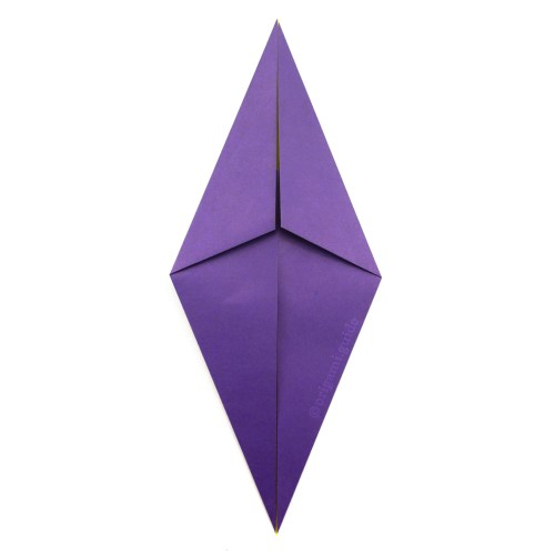 How To Make An Origami Diamond Base
