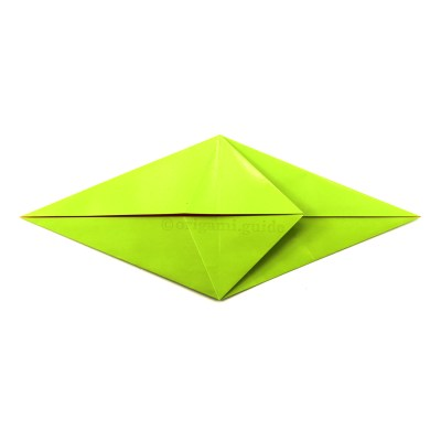 How To Fold An Origami Frog / Lily Base