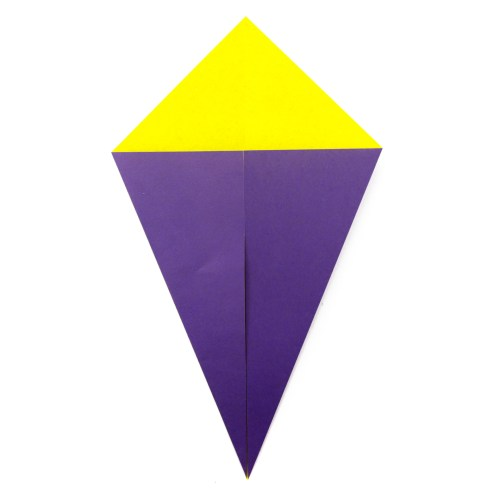 How To Make An Origami Kite Fold