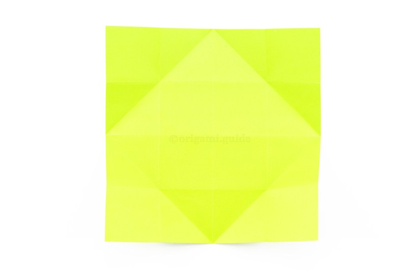 15. Unfold the paper.