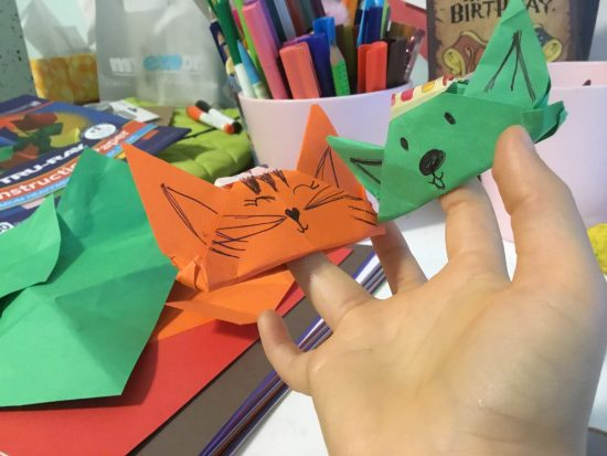 How To Make Origami Animal Finger Puppets