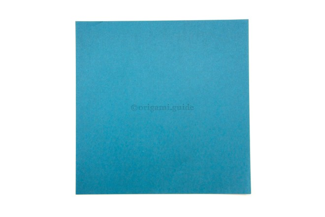 1. This the front of the paper, your divider will end up being this color.