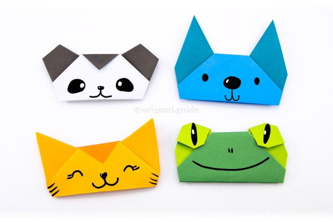 14. Here is a panda, dog, cat and frog finger puppet. See if you can make your 'ears' match these ones!