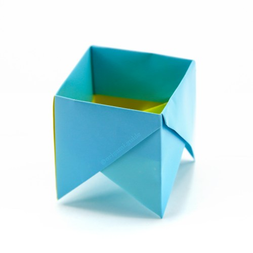 How To Make An Origami Fancy Box