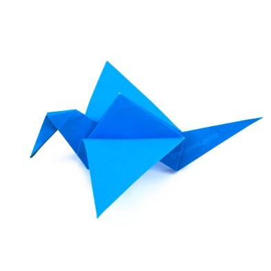 Origami Bird Instructions Origami Guide