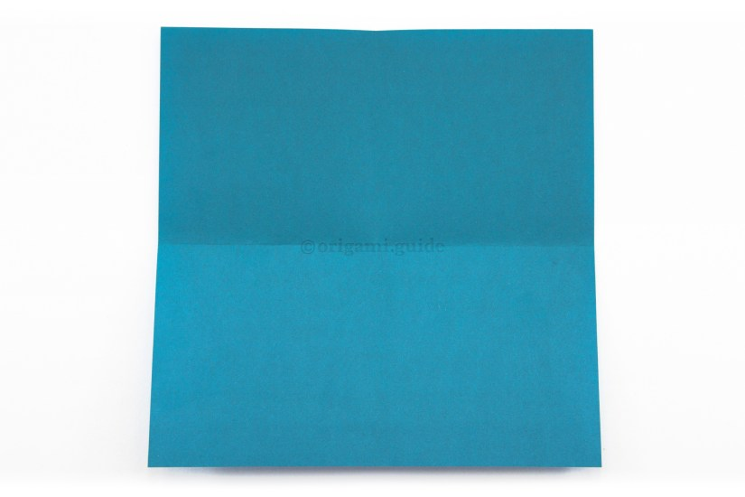 6. Unfold the paper.
