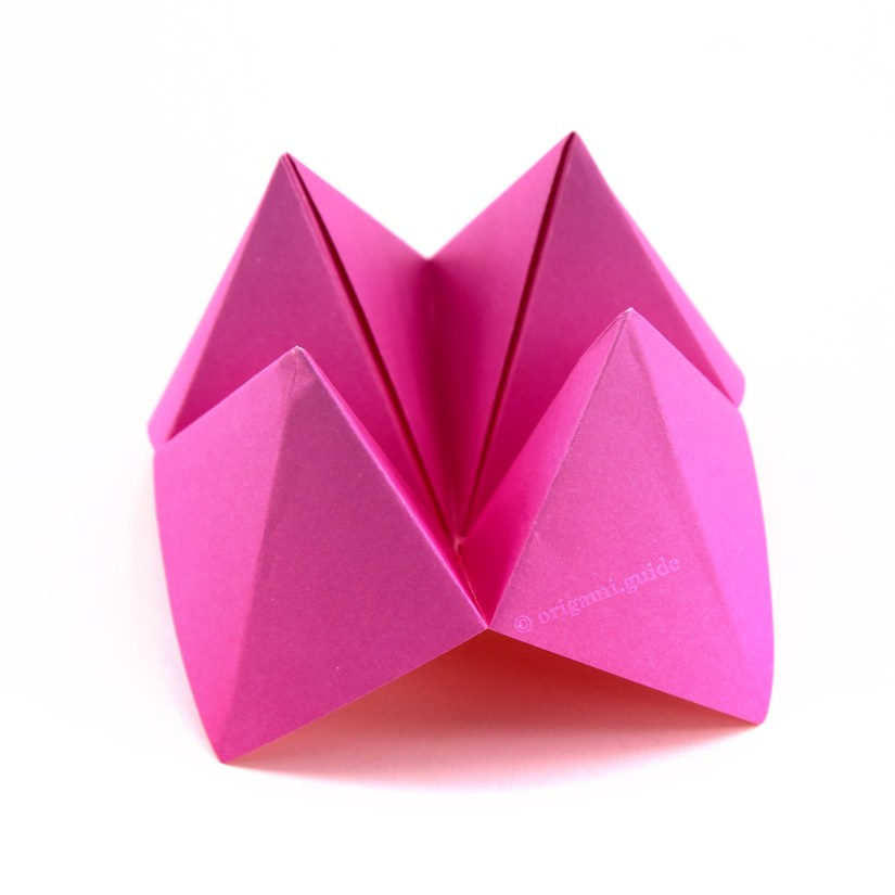 How To Make An Origami Fortune Teller Origami Guide