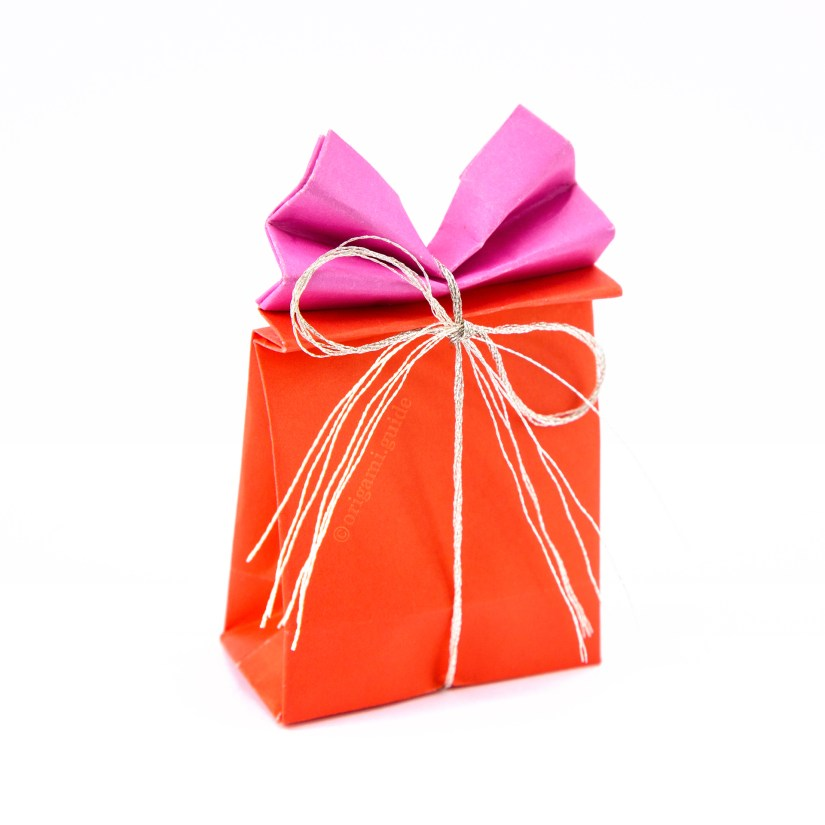 How To Make An Origami Gift Bag Origami Guide