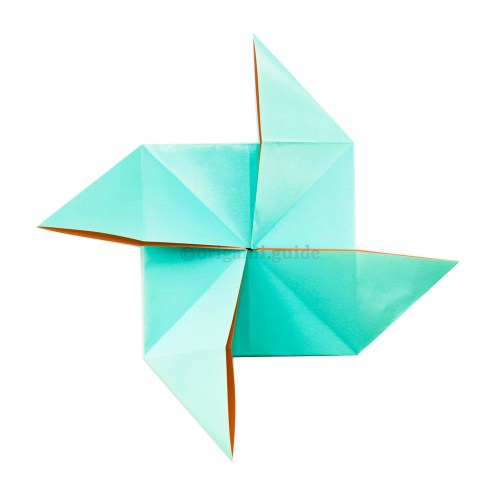 How To Make An Origami Pinwheel Base