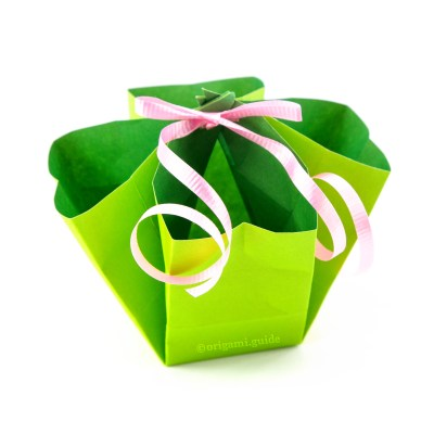 How To Make An Origami Gift Bag