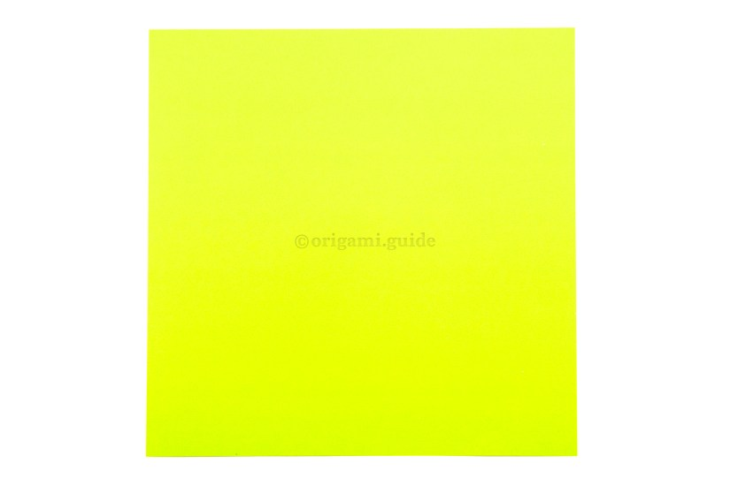 2. This is the front of the paper, the outside of the box will be this colour.