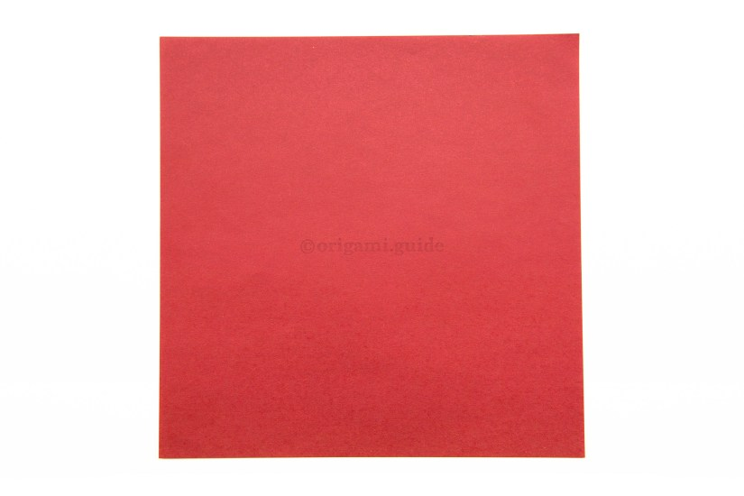 1. This is the front of the paper, our heart will be this colour.