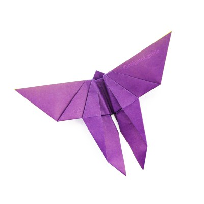 How To Make A Traditional Origami Butterfly
