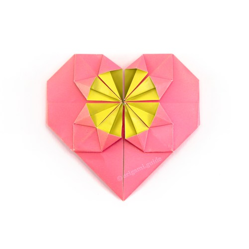 How To Make A Fancy Origami Heart