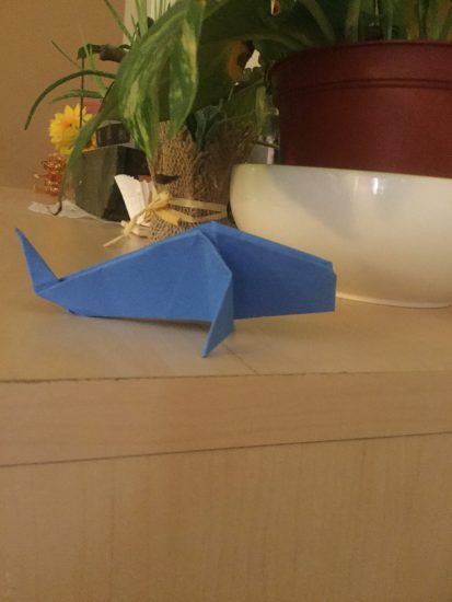 How To Make An Easy Origami Whale