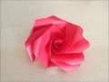 折り紙のバラ 立体 簡単な折り方
