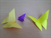 折り紙のちょうちょ(蝶) 簡単な折り方