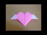 折り紙 エンジェル・ハート 簡単な折り方