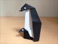 折り紙 ペンギン親子 簡単な折り方