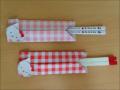 折り紙のキティちゃん 箸袋(箸入れ)簡単な折り方