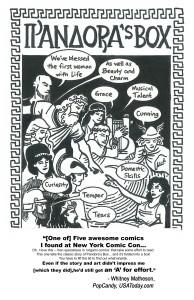 Pandoras Box ORIGAMI COMICS