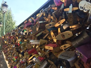 Padlocks on Pont Neuf