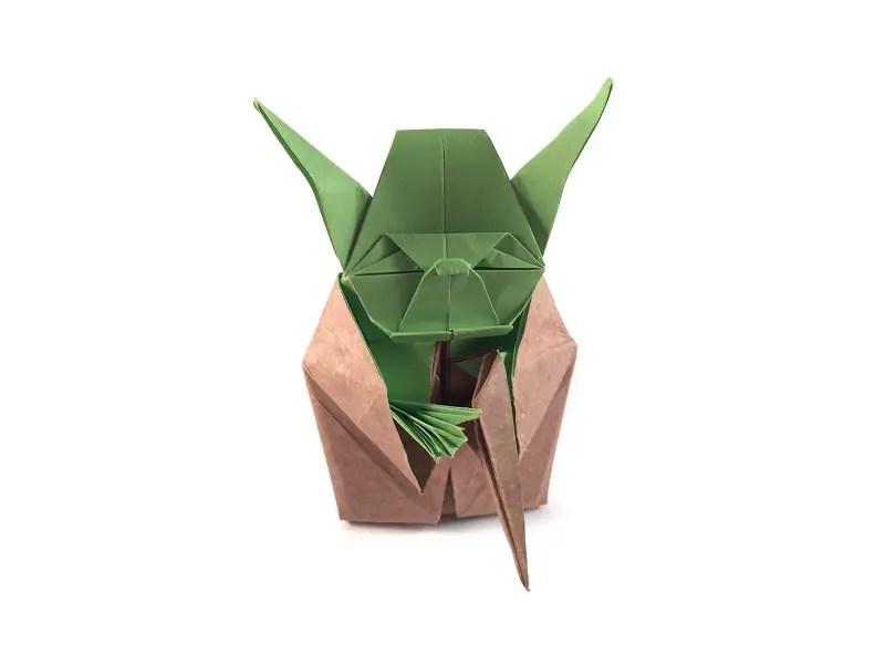 Wod 1 Origami Yoda Origami Expressions