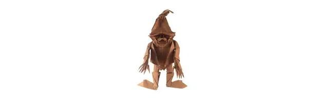 A strangely cute Origami Dwarf!