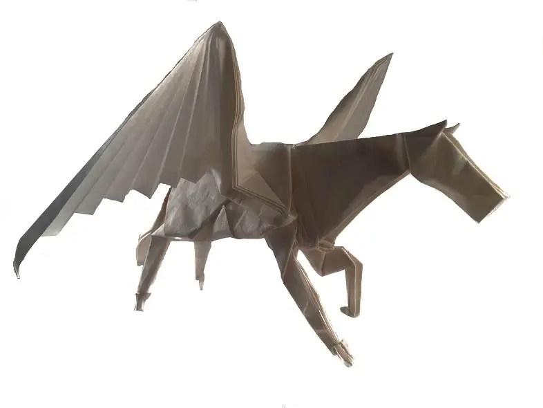 Satoshi Kamiyas Origami Pegasus Origami Expressions