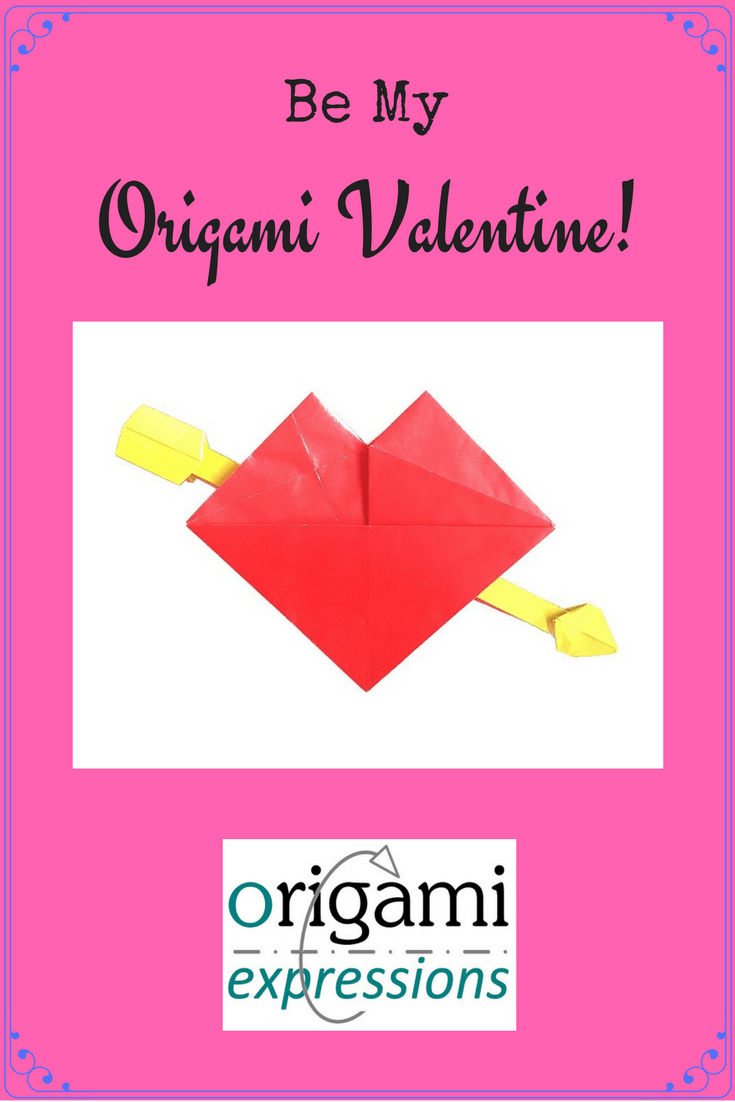 A review of origami and Valentine's Day - particularly Robert Lang's model called Valentine. Thoughts on folding & where to get diagrams are included
