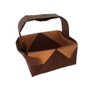 Traditional Origami Basket