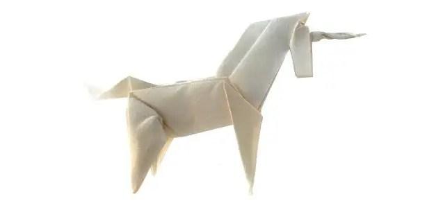 In Search of an Origami Unicorn!