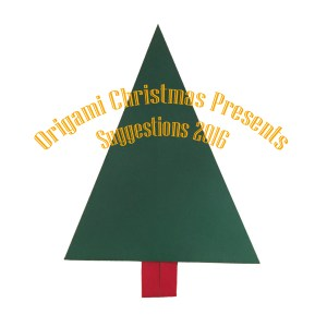 """Traditional Christmas Tree """"origamiexpressions.com"""" Origami Christmas Presents Suggestions"""