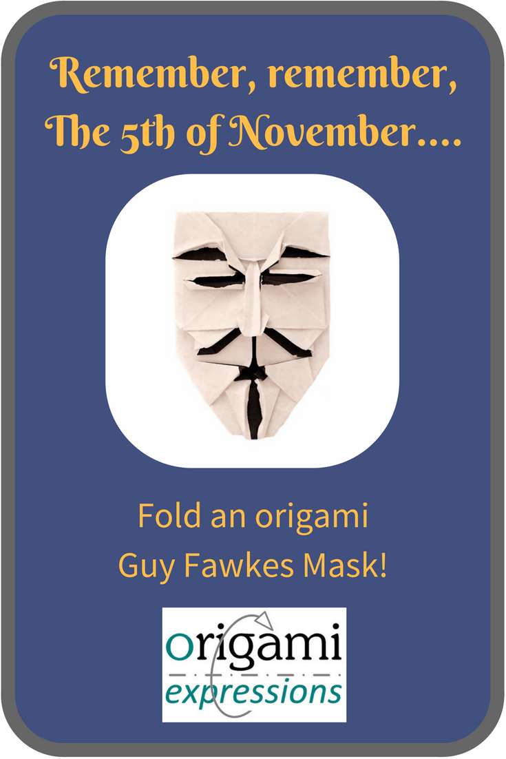 A review of Brian Chan's origami Guy Fawkes mask. Includes thoughts on folding it, paper choice, and a link to two video tutorials